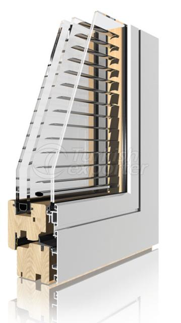 Ahşap Alüminyum Pencere ve Kapı Sistemleri -Verbund