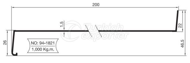 Windowsill Profiles Denizlik Profilleri