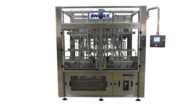 Máquina de enchimento do medidor de fluxo