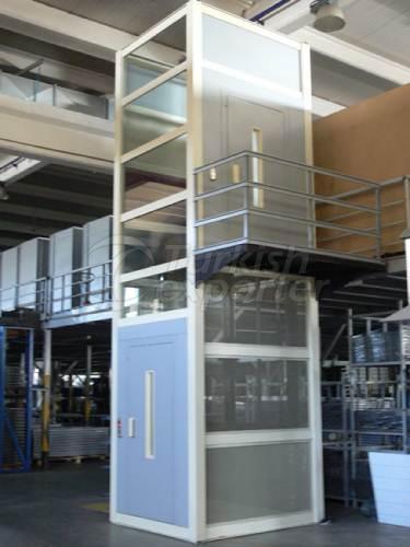 Вертикальные платвормы Wormlift WLP груз