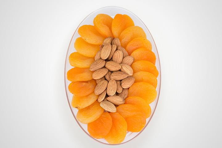 Sulphureous Dried Apricot