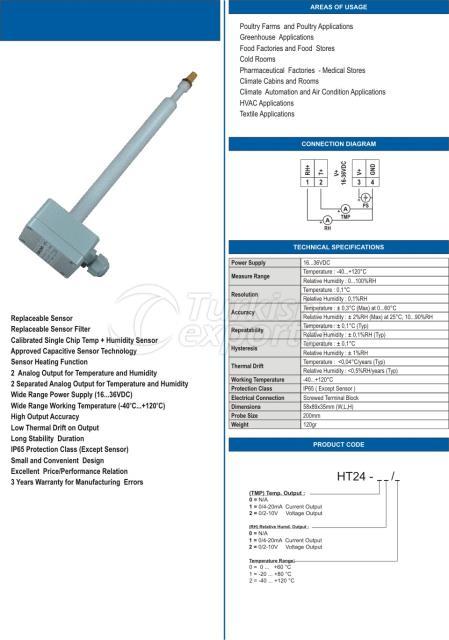 HT24 Bağıl-Nem ve Sıcaklık Transmitteri