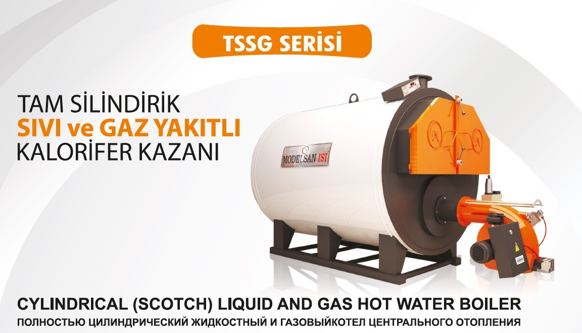 Gas Liquid Fuel Scotch Boiler TSSG Series