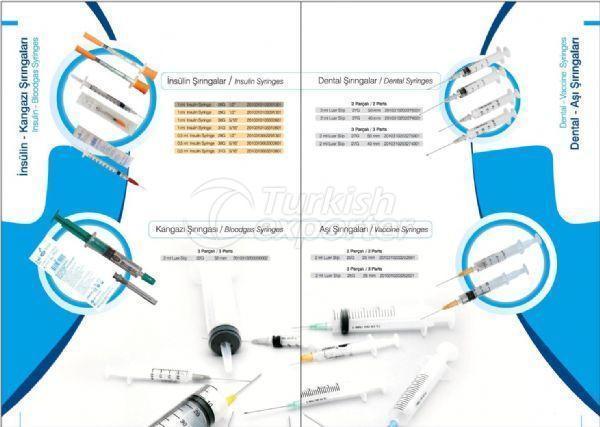 Insuline and Dental Syringes