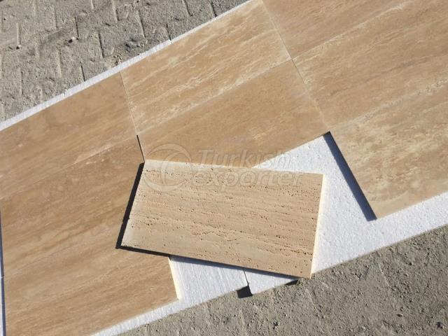 Tumbled Vein Cut Classic Travertine