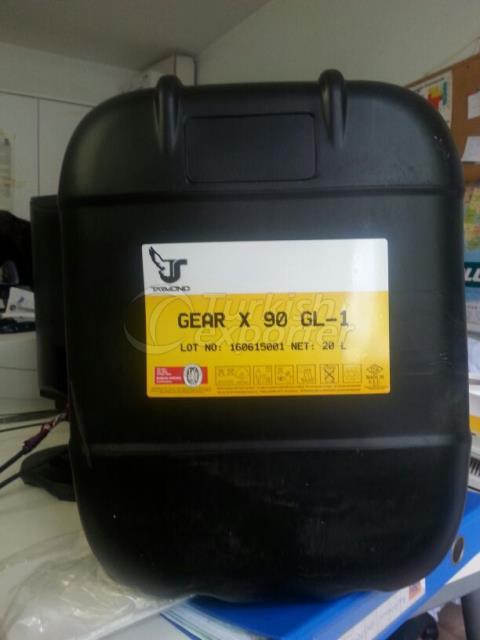 Óleo de engrenagem Tarex 80W90 GL-4