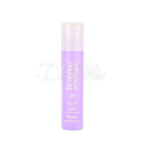 Shampoo with Rose Oil Extract