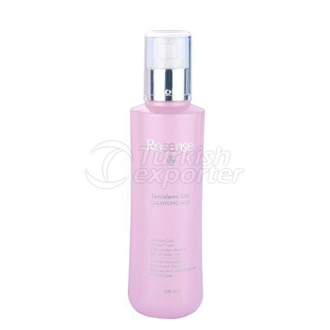 Cleansing Milk with Rose Oil Extract