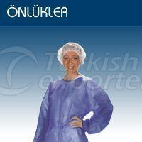 Nonwoven SMS Patient Gown-Color Blue