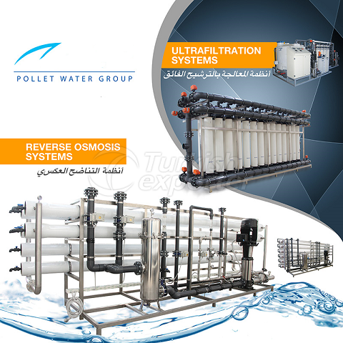 water & waste water treatment sys.
