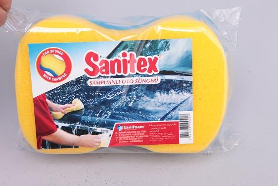 Car Cleaning Sponge with Shampoo