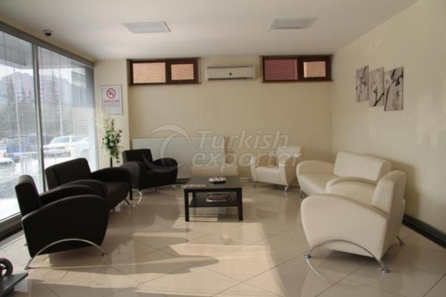 Hospital Concept-Waiting Room Furnitures