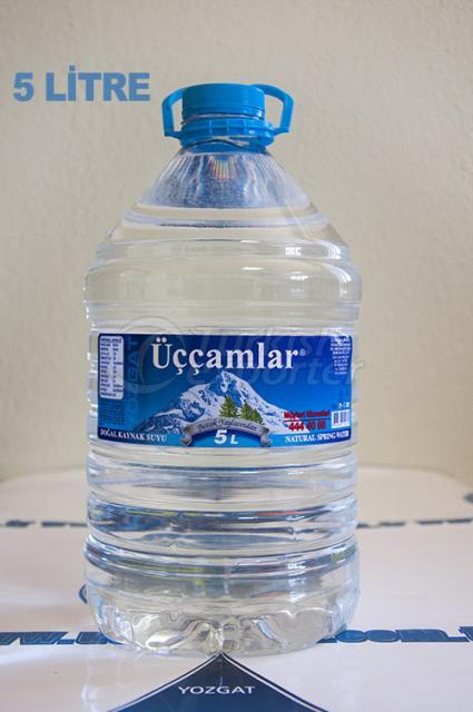Natural Spring Water 5 Liter