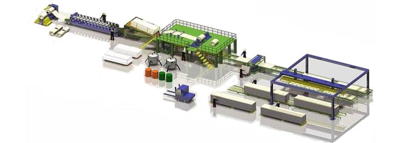 EPS Панель Производственная линия