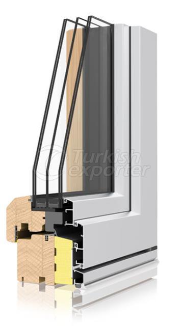 Ahşap Alüminyum Pencere ve Kapı Sistemleri -Termoscudo