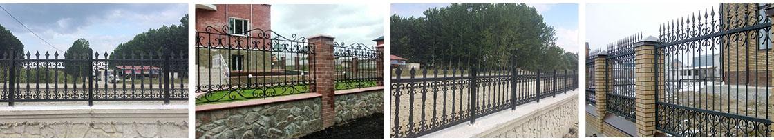 Steel Reinforced Plastic Fence