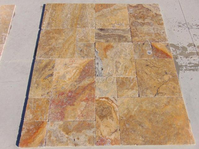 Tumbled Scabas Travertine