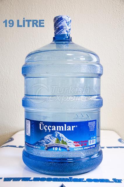 مياه ينابيع الطبيعية   19 لتر