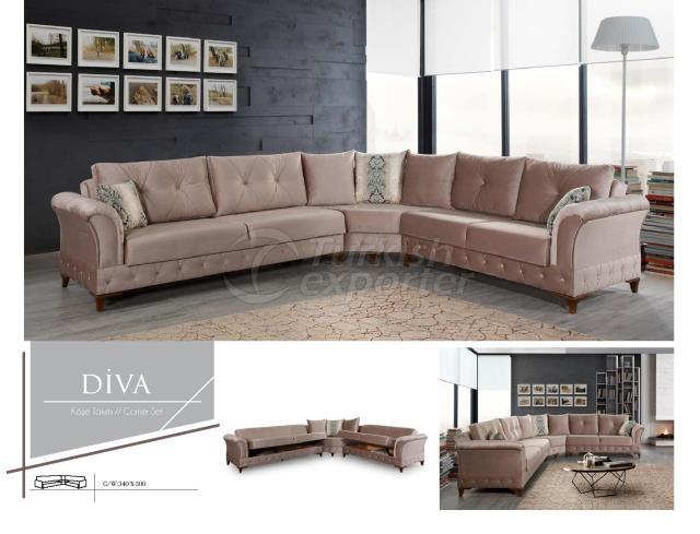 Diva Corner Set