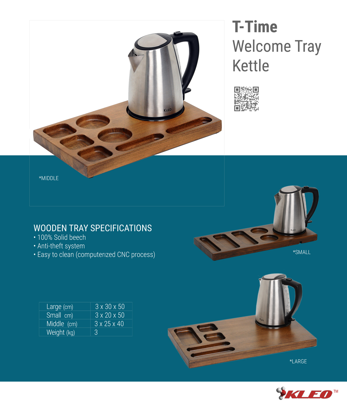 T-TIME WELCOME TRAY