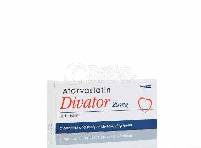 DIVATOR® 20 mg Film Tablet