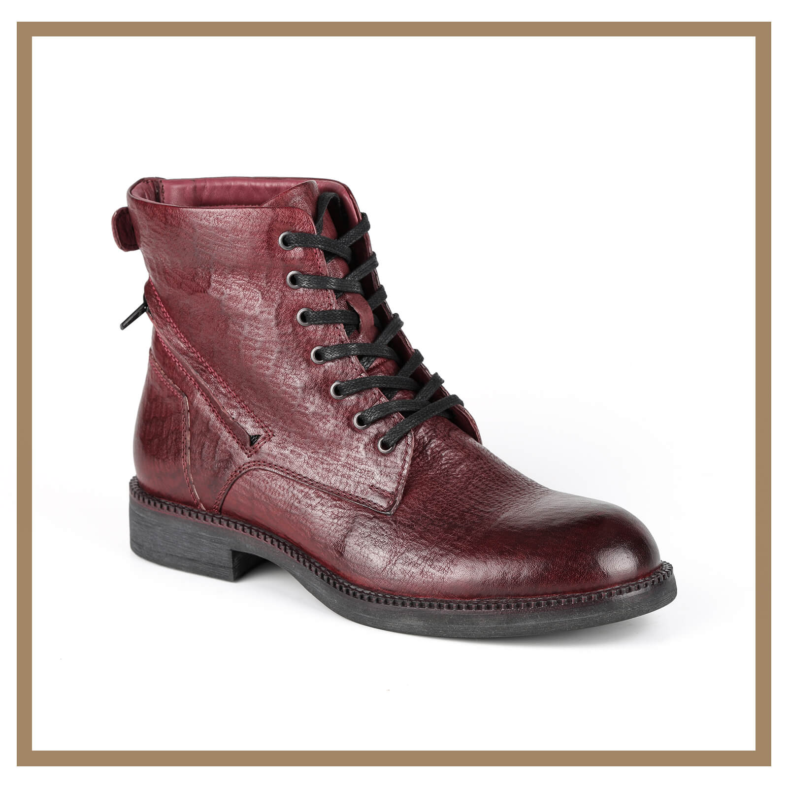 Leather Man Boots 003