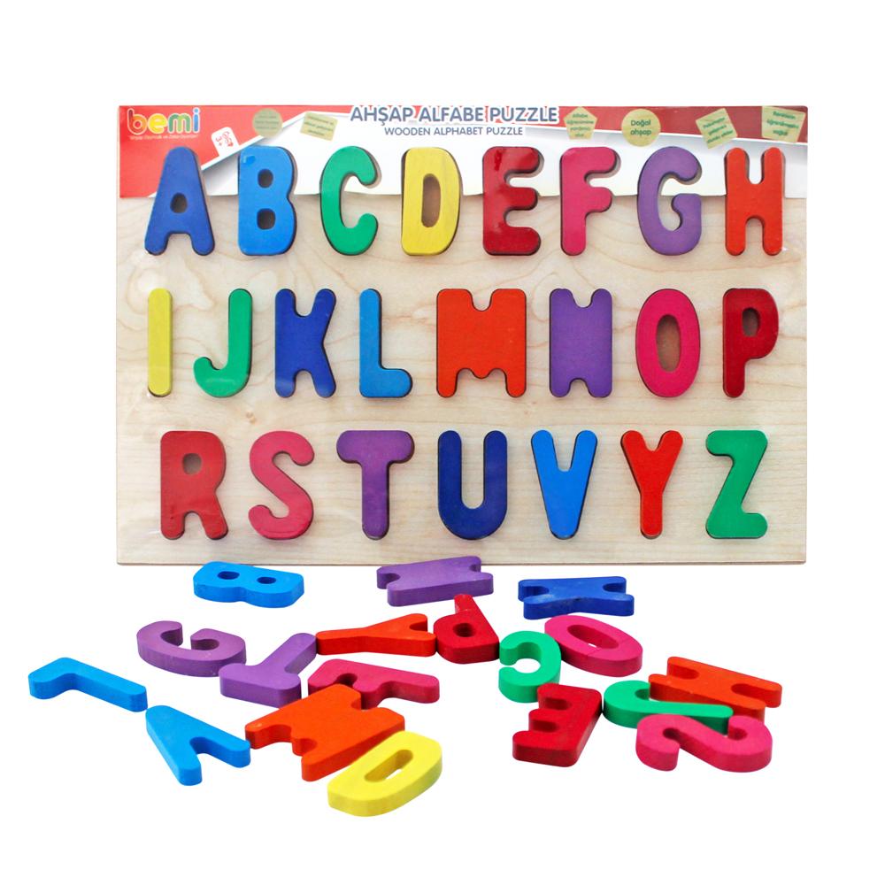 Alphabets Puzzle Wooden