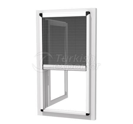 Pleated Window Fly Screen