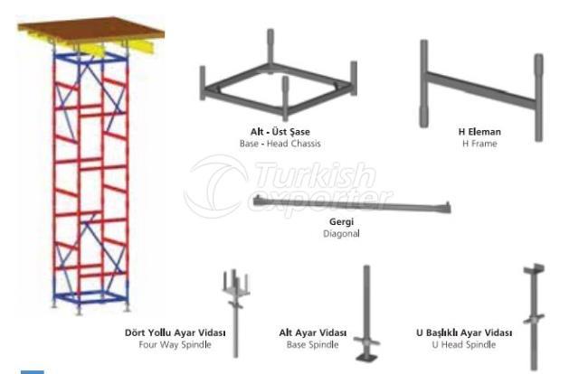 Torre de estocagem tipo H