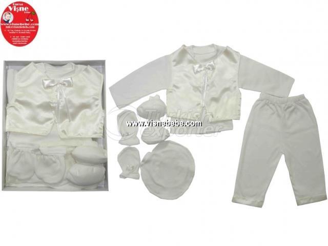 Vestido de servicio conmemorativo de Baby Boy