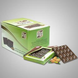 Milk Chocolate with Pistachio