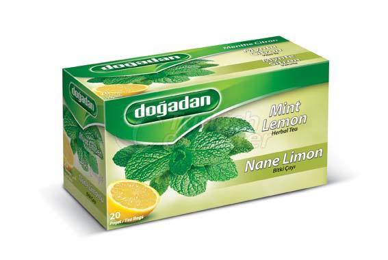 Mint Lemon Fruit Tea