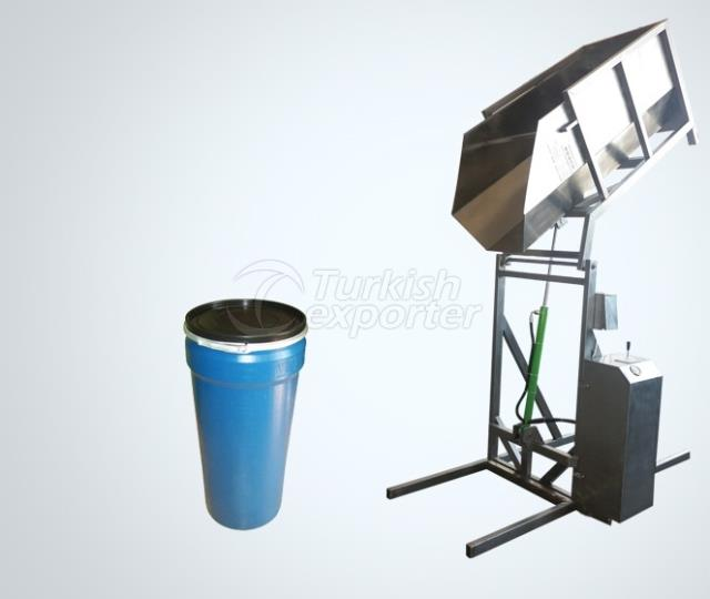 Jerry Can Tilting Machine