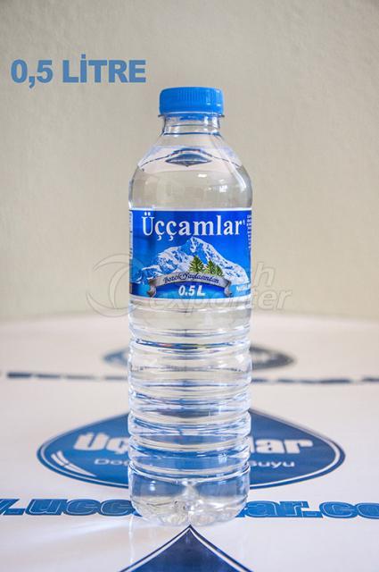 Natural Spring Water 0.5 Liter