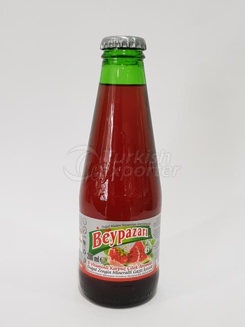 Watermelon-Strawberry mineral water