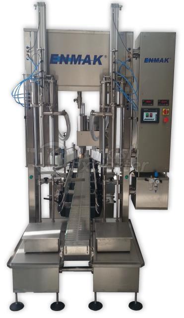 Máquina de enchimento de célula de carga