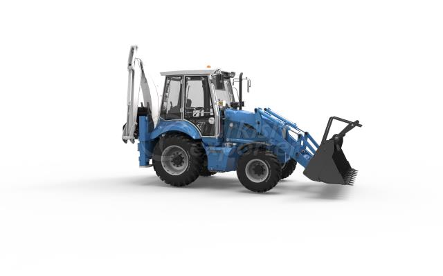 BACKHOE LOADER 1022A