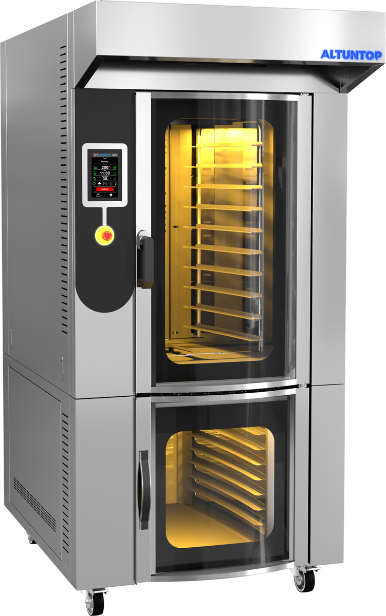 ROTARY PASTRY CONVECTION OVEN
