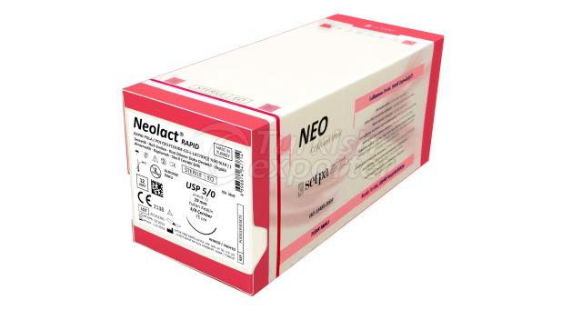 NEOLACT RAPID PGLA SURGICAL SUTURE