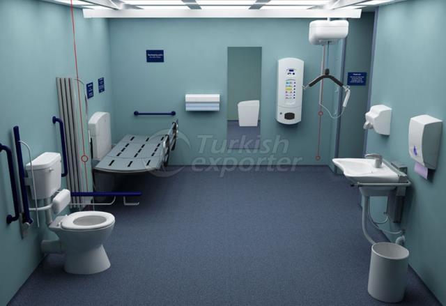 Hospital Concept-Bathroom Furnitures