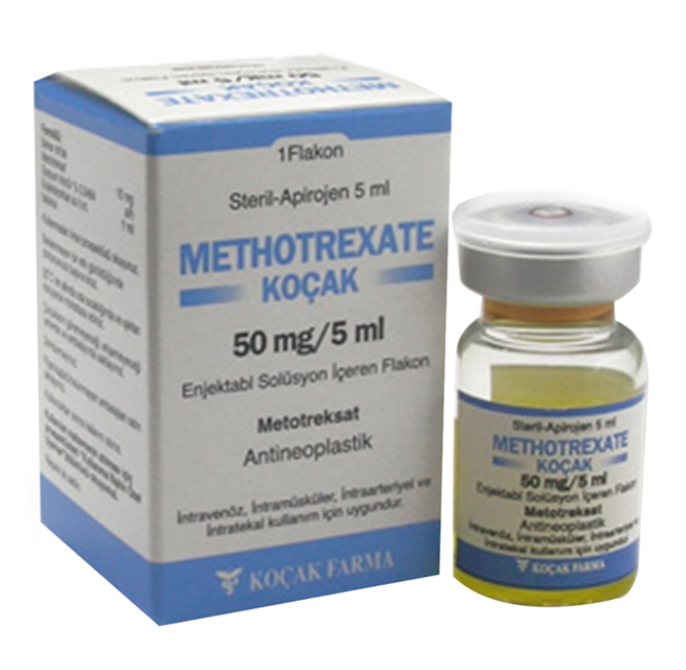 METOTREXATO - KOCAK 50 MG / 5 ml y vial de 500 mg / 20 ml