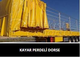Kayar Perdeli Dorse