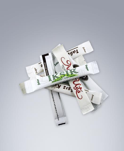 Embalaje de azúcar impreso