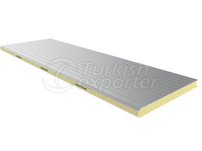 Sandwich Panel with Corrugated Surf