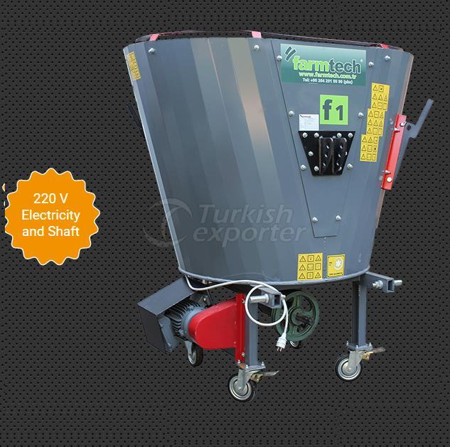 1m³ feed mixer machine (tmr)
