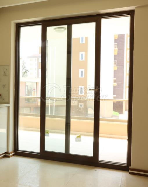 Pvc aluminum Window  Sliding System