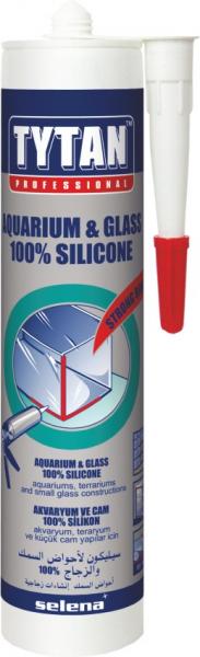 TYTAN PROFESSIONAL AQUARIUM - GLASS 100_ SILICONE