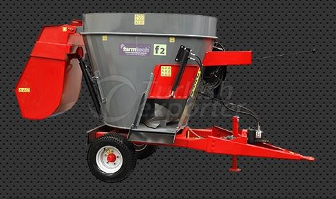 Vertical Feed Mixer Machines