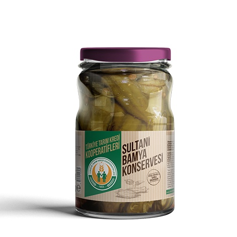 Canned Okra Sultani