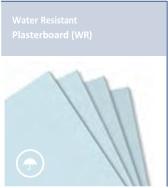 Water Resistant Plasterboard